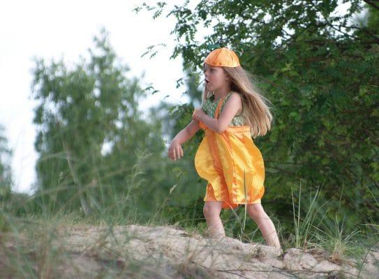 Nachhaltige Kinderkostüme