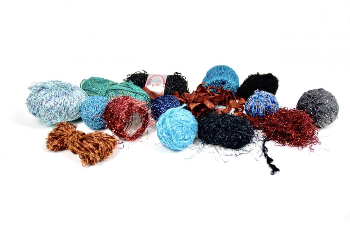Nachhaltige Kinderkostüme - Wollreste für ein Upcycling-Projekt