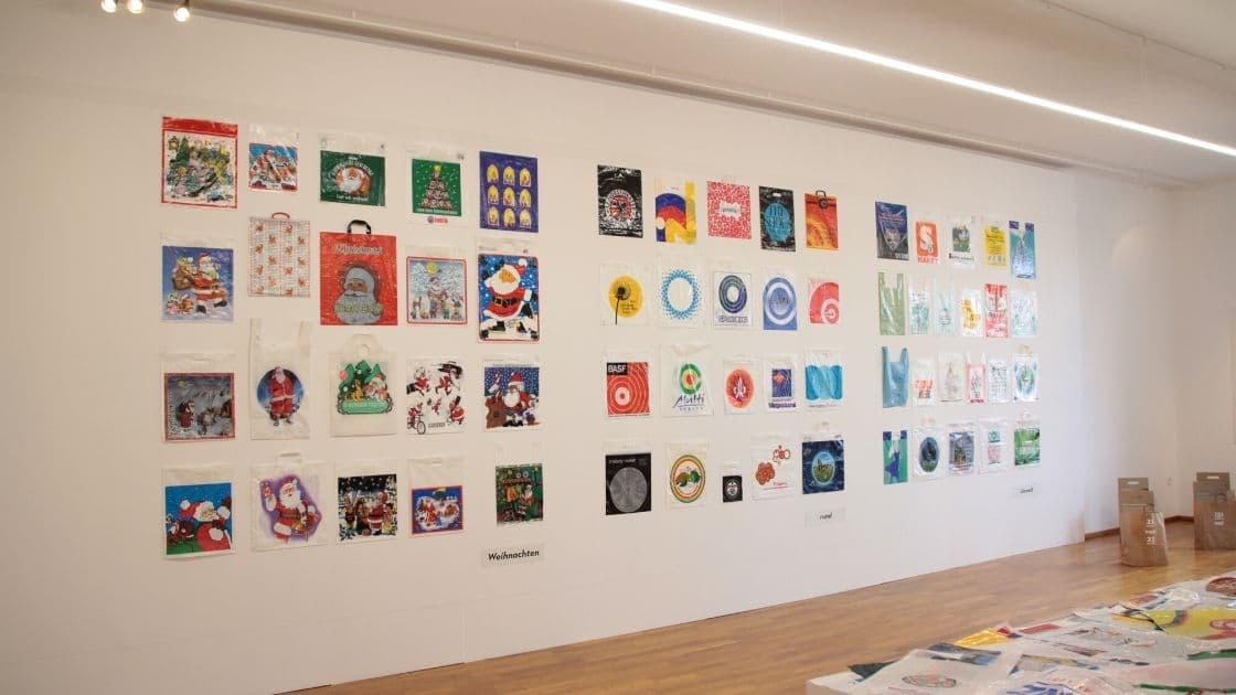 Plastiktüte Ade- Ausstellung im Museum der Alltagskultur