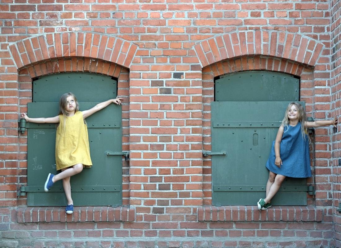 Stofflexikon - Kinderkleider aus Leinen