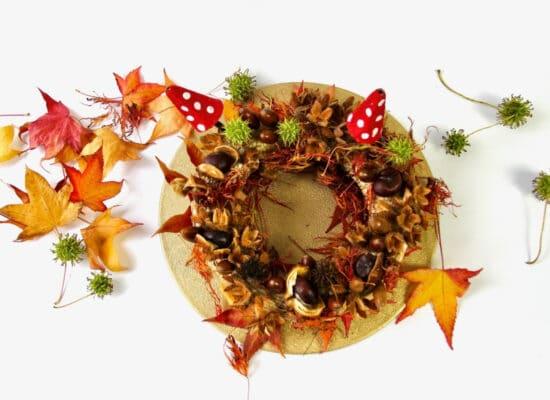 Basteln im Herbst: Deko aus Naturmaterialien