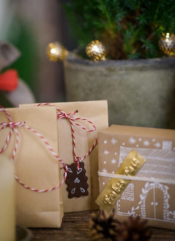 Weihnachtsgeschenke nachhaltig verpacken