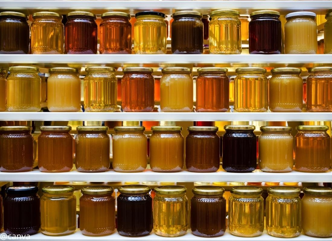 Honig - Sortenvielfalt