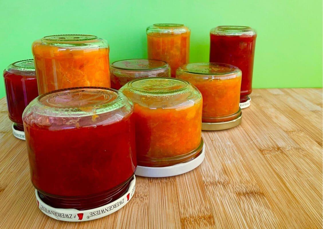 Selbest gemachte Marmeladen